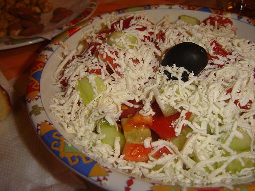 Shopska salata, Bulgarija