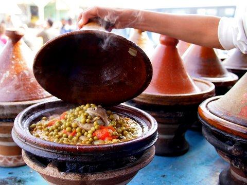 Marokietiško tadžino receptas