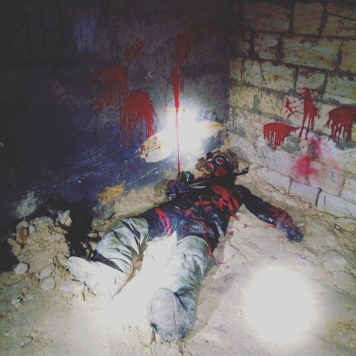 Odesos katakombos Ukraina