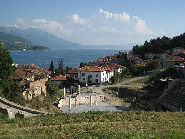 Macedonia Ohrid lake