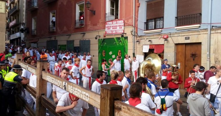 [Spain] San Fermines festival in Pamplona: bullfighting and brutality, drink and song, joy and excitement