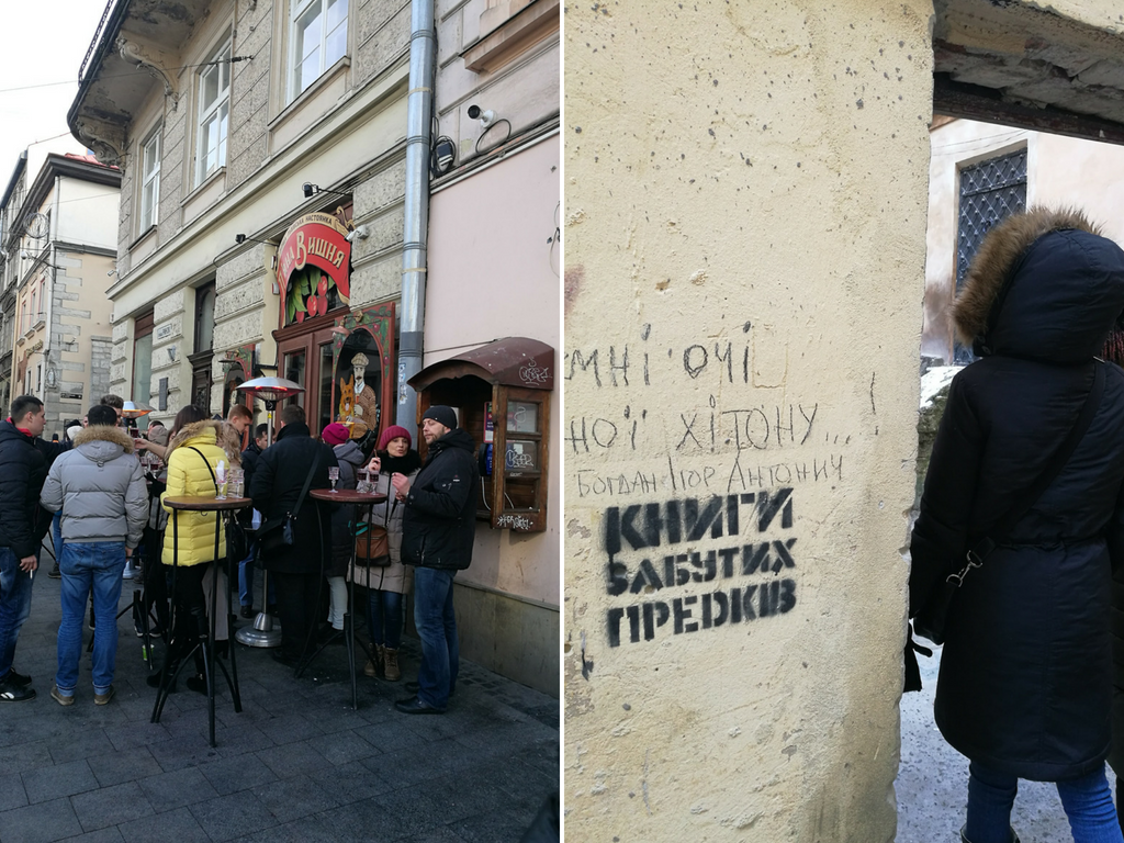 Lviv Ukraine restaurants