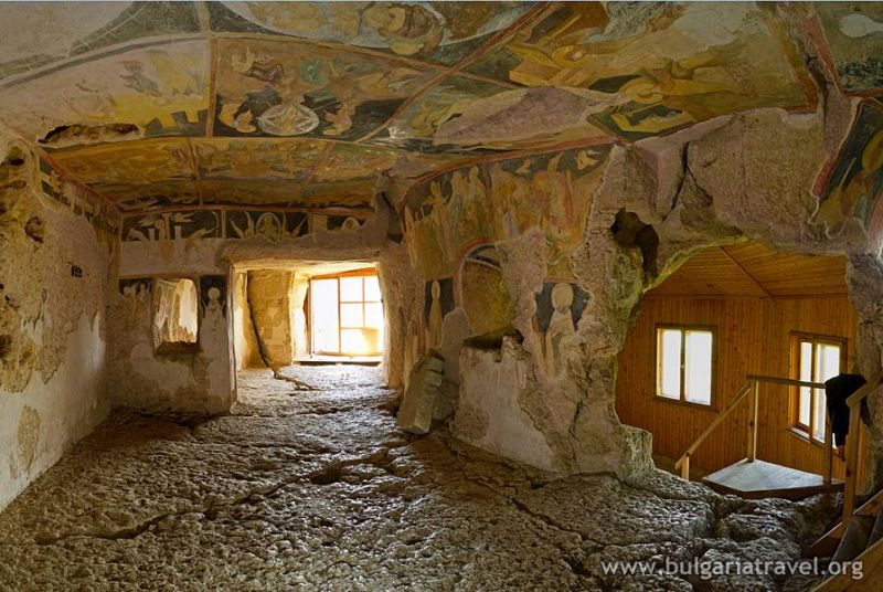 Bulgarian rock churches