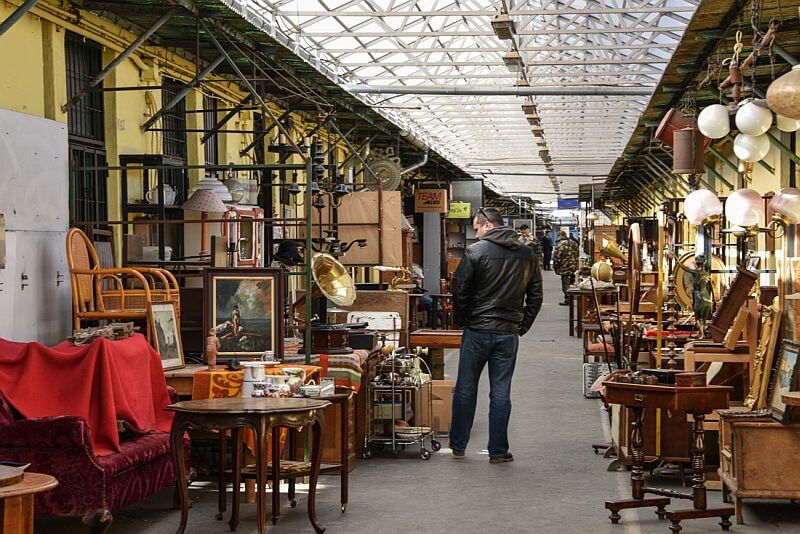 ecseri flea market Budapest